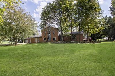 Zionsville Single Family Home For Sale: 812 Eaglewood Drive