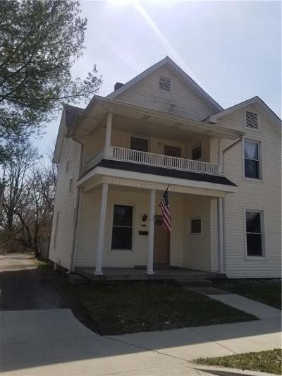 Franklin Single Family Home For Sale: 419 West Jefferson Street