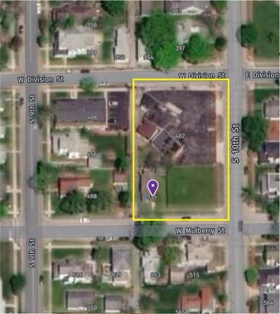 Noblesville Commercial Lots & Land For Sale: 407 South 10th Street
