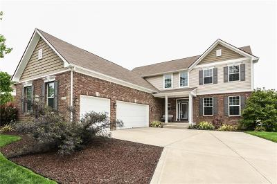Fishers Single Family Home For Sale: 12143 Wolverton Way