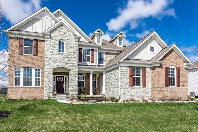 Zionsville Single Family Home For Sale: 3844 Conifer Drive
