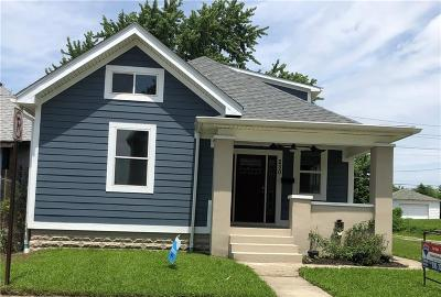 Indianapolis Single Family Home For Sale: 230 East Sanders Street
