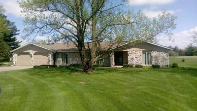 Delaware County Single Family Home For Sale: 6320 North County Road 600 W.
