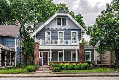 Indianapolis Single Family Home For Sale: 1639 North Delaware Street