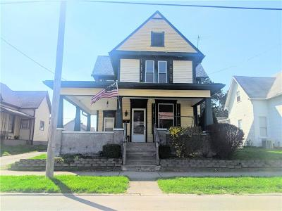 Shelbyville Single Family Home For Sale: 505 South Miller Street