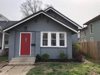 Columbus Single Family Home For Sale: 1109 Lafayette Avenue
