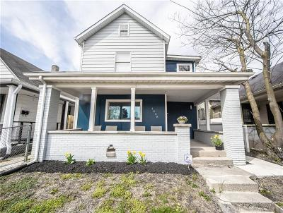 Indianapolis Single Family Home For Sale: 1548 Lexington Avenue