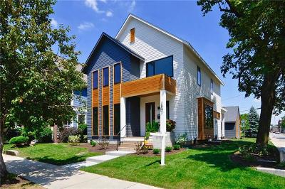 Indianapolis Single Family Home For Sale: 1901 North Talbott Street