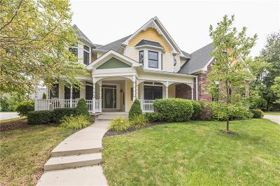 Zionsville Single Family Home For Sale: 6733 Beekman Place W