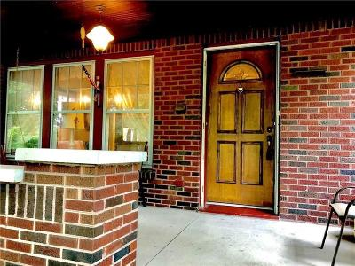 Indianapolis Single Family Home For Sale: 540 Woodruff Place Middle Drive