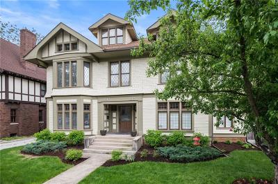 Indianapolis Single Family Home For Sale: 1617 North Talbott Street