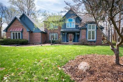 Indianapolis Single Family Home For Sale: 8330 Galley Court
