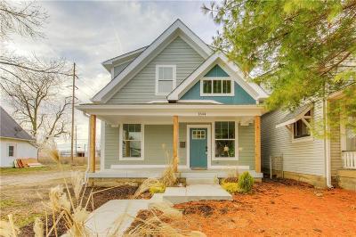 Indianapolis Single Family Home For Sale: 1848 Singleton Street