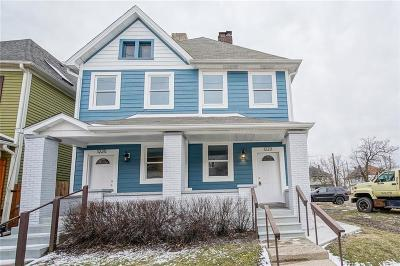 Indianapolis Single Family Home For Sale: 1225 East Market Street