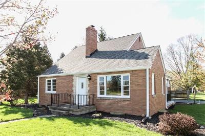 Plainfield Single Family Home For Sale: 903 East Buchanan Street