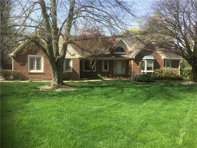 Indianapolis Single Family Home For Sale: 6560 Forrest Commons Boulevard