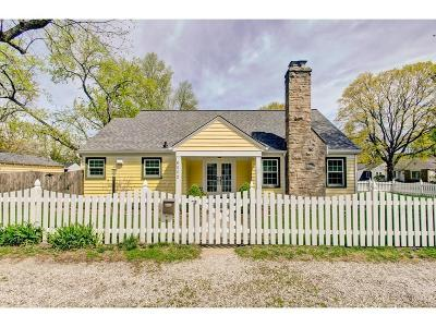 Indianapolis Single Family Home For Sale: 6002 Crittenden Avenue