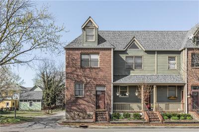 Indianapolis Condo/Townhouse For Sale: 624 East New York Street