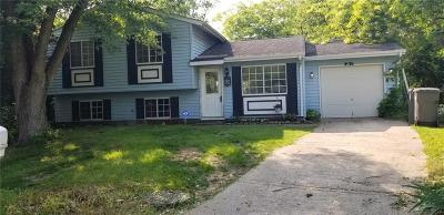 Indianapolis Single Family Home For Sale: 5120 Carob Court