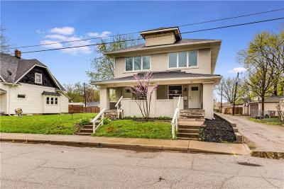 Indianapolis IN Single Family Home For Sale: $214,900
