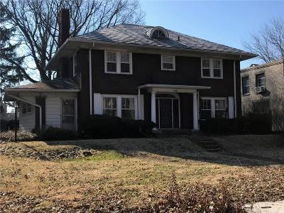 Indianapolis Single Family Home For Sale: 3645 Watson Road