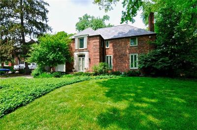 Indianapolis Single Family Home For Sale: 502 Blue Ridge Road