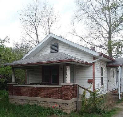 Indianapolis Single Family Home For Sale: 2206 East 46th Street