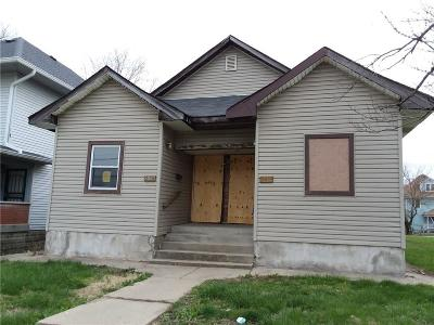 Indianapolis IN Multi Family Home For Sale: $69,900
