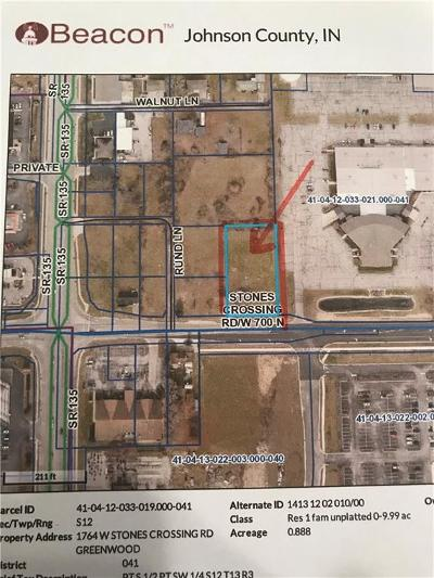 Greenwood Commercial Lots & Land For Sale: 1764 West Stones Crossing Road