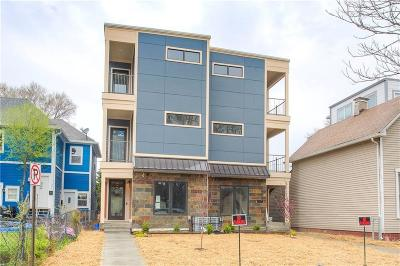 Indianapolis Condo/Townhouse For Sale: 910 Woodlawn Avenue #910