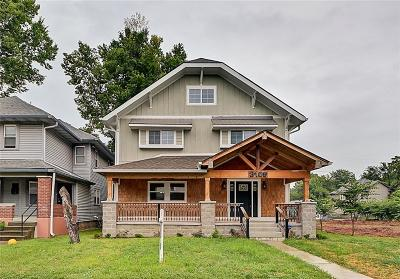 Indianapolis Single Family Home For Sale: 3109 Ruckle Street