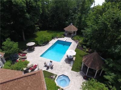 Zionsville Single Family Home For Sale: 10195 Oak Ridge Drive
