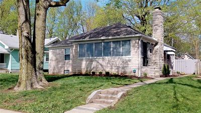 Indianapolis Single Family Home For Sale: 4151 Guilford Avenue