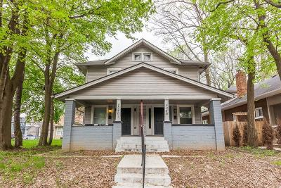 Indianapolis Multi Family Home For Sale: 4040 North College Avenue