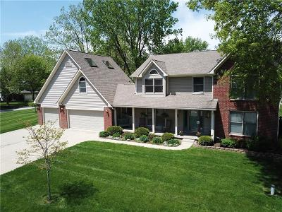 Plainfield Single Family Home For Sale: 7136 Hidden Valley Drive