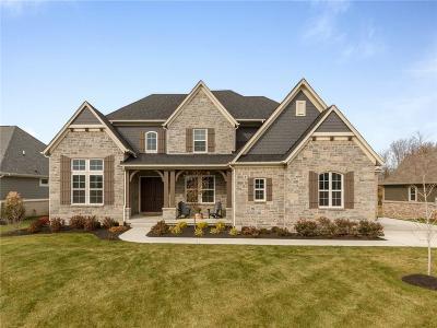 Carmel Single Family Home For Sale: 3890 Birkdale Drive
