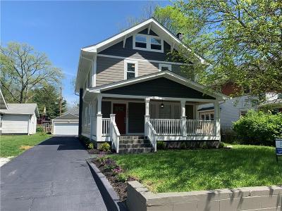 Single Family Home For Sale: 3905 Carrollton Avenue