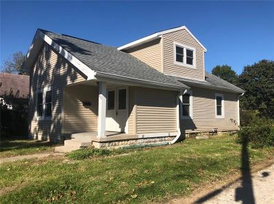 Indianapolis Single Family Home For Sale: 616 West 39th Street