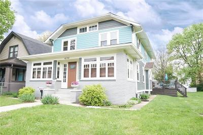Single Family Home For Sale: 4230 Carrollton Avenue