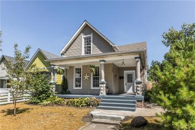Indianapolis Single Family Home For Sale: 1405 Barth Avenue