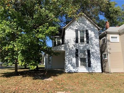 Delaware County Single Family Home For Sale: 834 West North Street