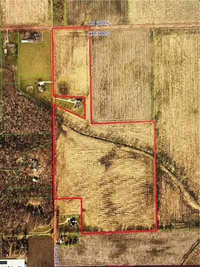 Whitestown Farm For Sale: 3325 South 450 E