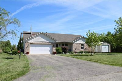 Mooresville Single Family Home Pending: 7685 North Kitchen Road