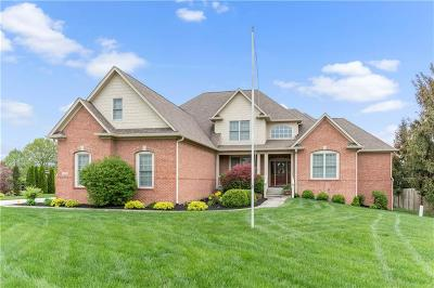 Noblesville Single Family Home For Sale: 18538 Pebble Brook Court