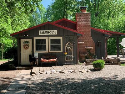 Poland Single Family Home For Sale: 9652-9650 Buckskin Road