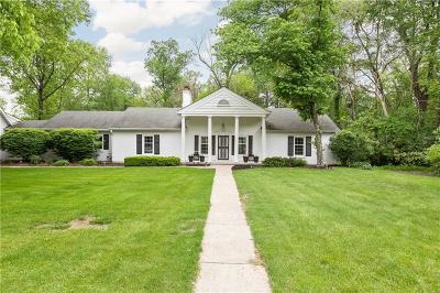 Single Family Home For Sale: 8976 Spring Mill Road
