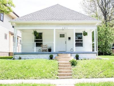 Indianapolis Single Family Home For Sale: 3951 North Park Avenue