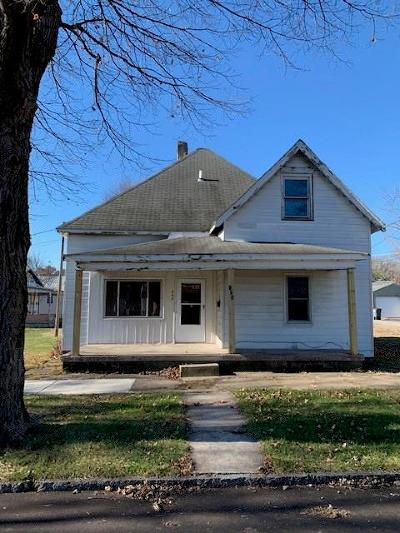 Rushville Single Family Home For Sale: 709 North Arthur Street