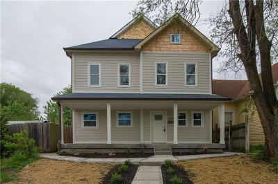 Single Family Home For Sale: 242 North Summit Street