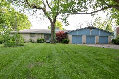 Marion County Single Family Home For Sale: 9535 East 24th Street